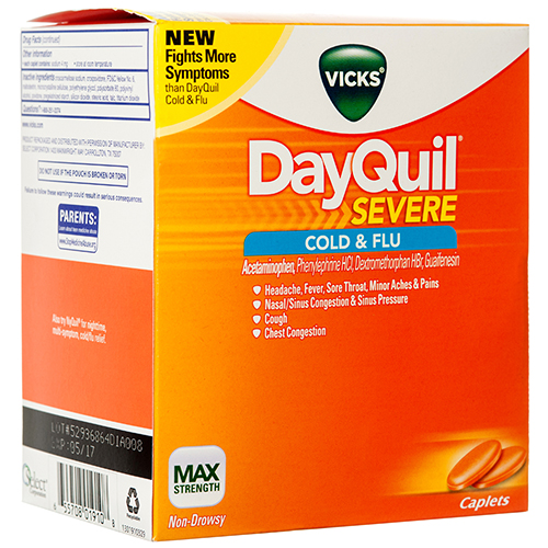 DAYQUIL VICKS ORANGE CAPS NON-DEA